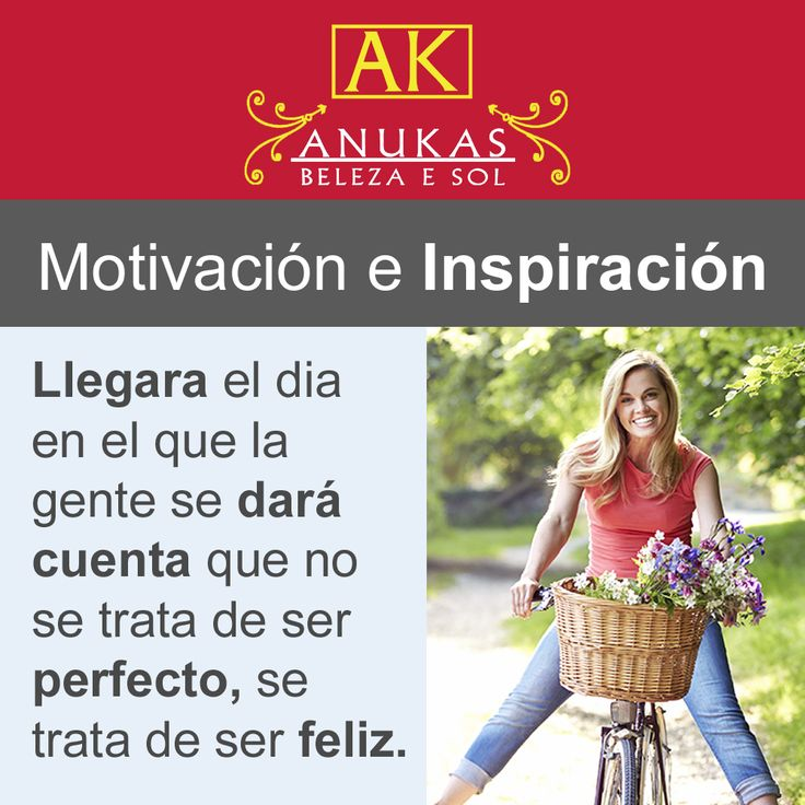 #Motivación Todo simpre se trata de ser feliz.