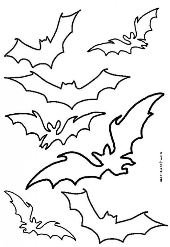 Halloween stencils and patterns