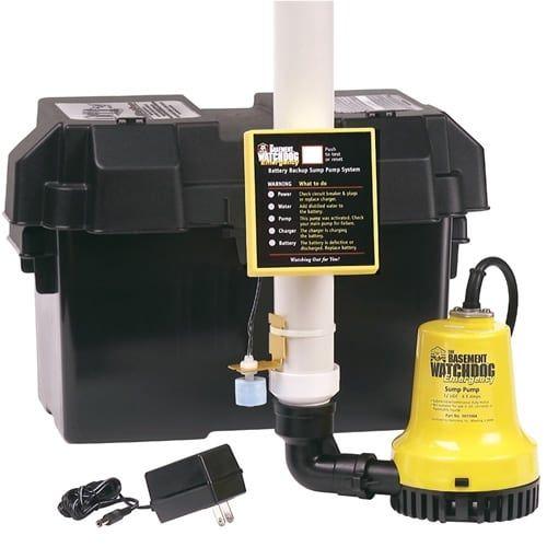 Basement Watchdog BWE Emergency Backup Sump Pump
