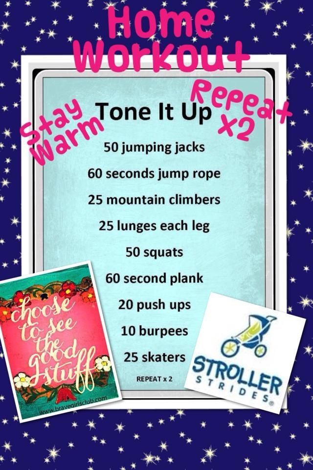 Great workout from Stroller Strides