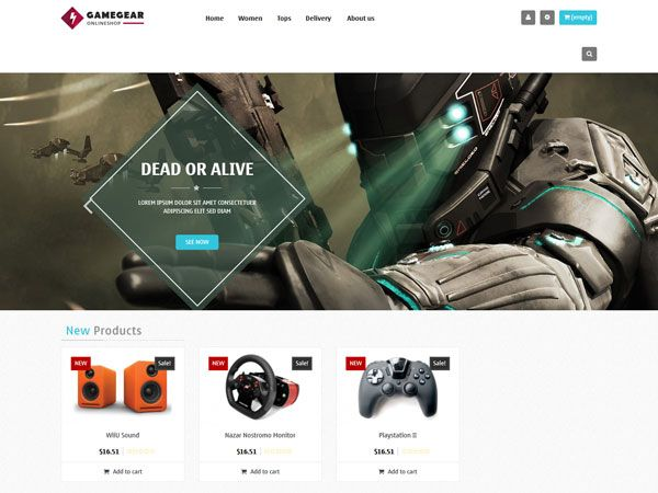 Leo Game Gear PrestaShop Theme