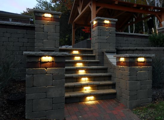 39 Best Images About Sleeper Retaining Wall Amp Steps On