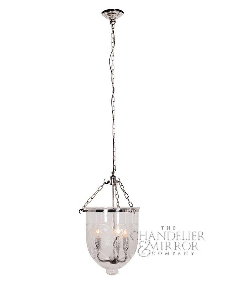 66 best chandeliers images on pinterest crystal chandeliers felda pendant lights nickel glass pendant lantern mozeypictures Gallery