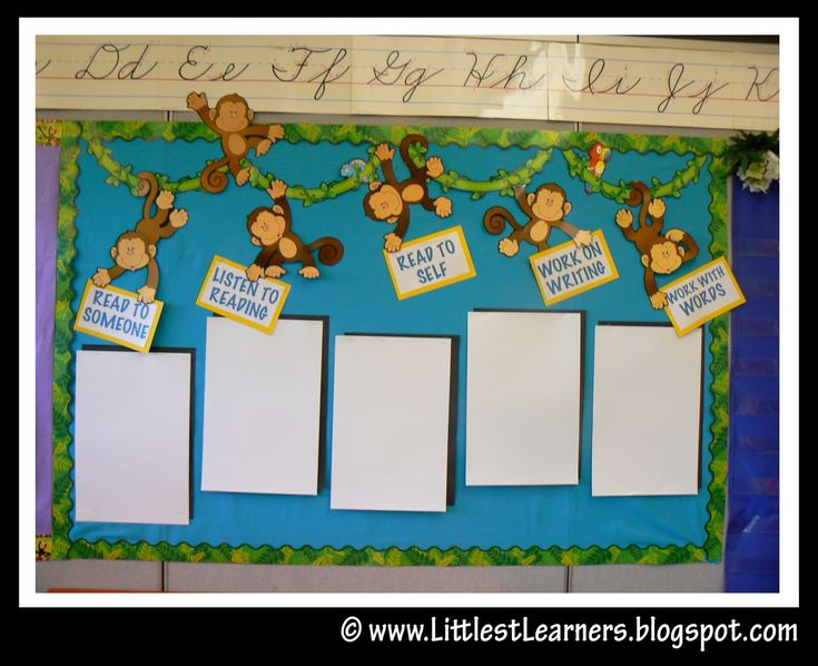 Think I'll change this to a genre theme...Clutter-Free Classroom: Jungle / Safari Themed Classrooms