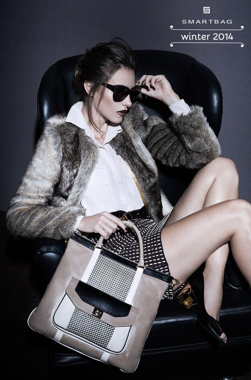 Bolsas Smartbag | Campanha Inverno 2014 #bolsa #piedpoule #winter