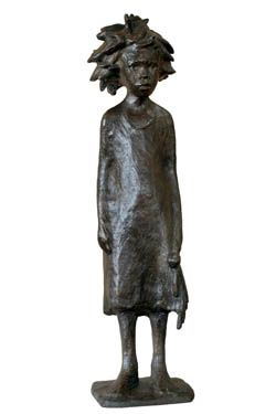 An Original #Sculpture by #TheoMegaw entitled #RagDoll #Bronze #SouthAfricanArtist For more please visit www.finearts.co.za