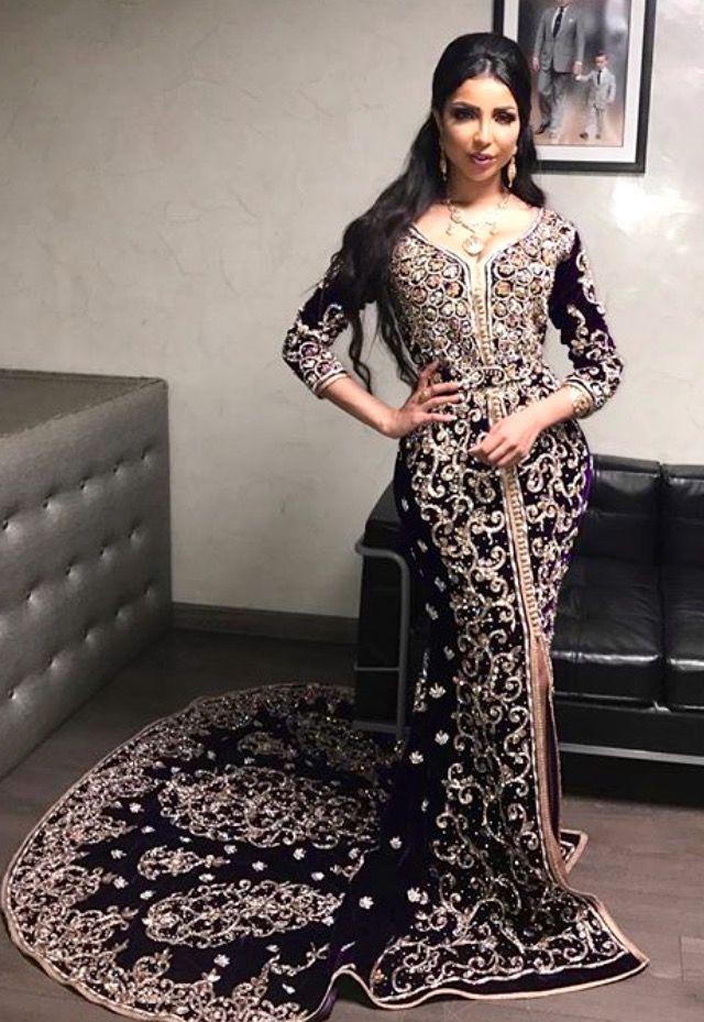 Maghrebi Beauty | Moroccan | Nuriyah O. Martinez | Chaimae haute couture