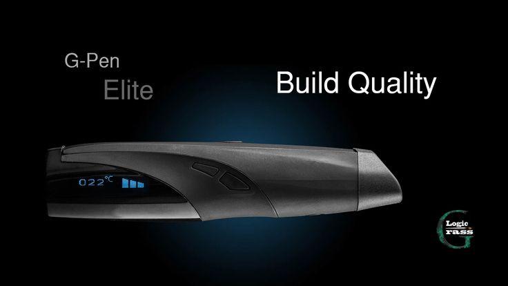 The G pen Elite vaporizer review build quality