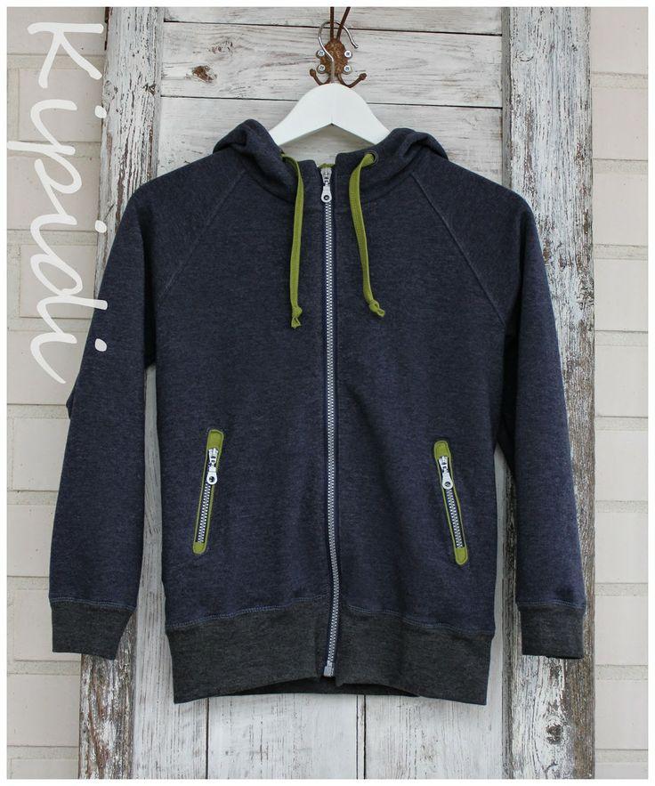 OB 4/2012 Born to run hoodie / huppari