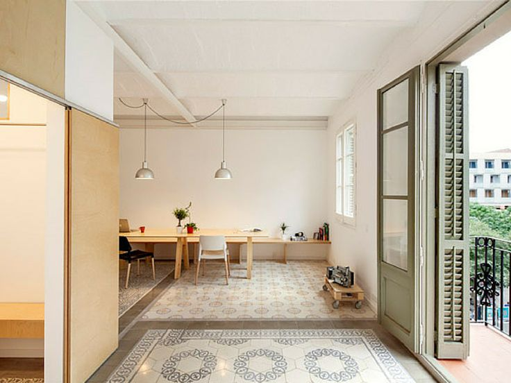 Great #Barcelona Apartment With Iconic Floor Tiles #Design Nice Look