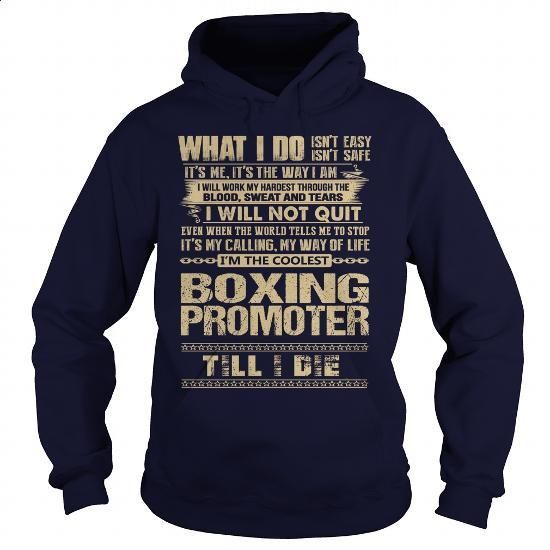 Awesome Tee For Boxing Promoter - silk screen #shirt #teeshirt