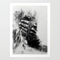 Art Print featuring Esperimenti con Carbone 5 by Fernando Vieira