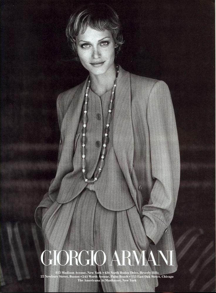 Photo Peter Lindbergh Model Amber Valletta US VOGUE AUGUST 1993