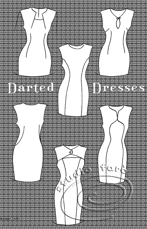 Dress Pattern Making and Dart Transfer - join us.