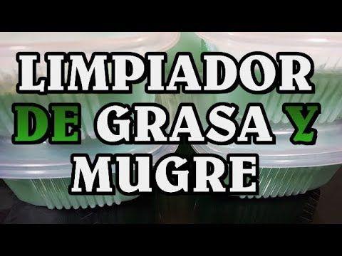 ESTE LIMPIADOR ARRANCA GRASA Y MUGRE SIN ESFUERZO - YouTube