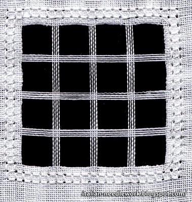 Italian Needlework: Reticello /3/