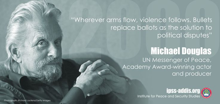 Quote from Michael Douglas - SALW
