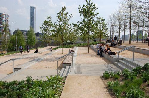 STREETLIFE Woodtop System @ Queen Elizabeth Olympic Park, Stratford, London