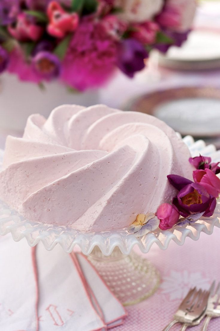 This gorgeous Rose and Raspberry–Infused Blancmange is a delectable treat.