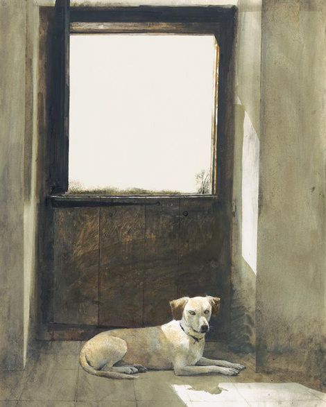 Andrew Wyeth,  Watch Dog