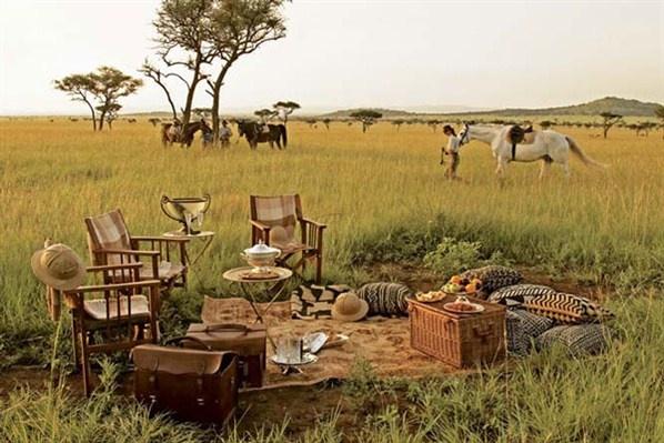 Africa.  Rest on the salvage life.  Descanso en la vida salvaje (© Fahrenheit Magazine)