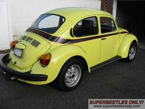 Buy used 1973 Volkswagen Super Beetle Sports Bug Edition in West Islip ...