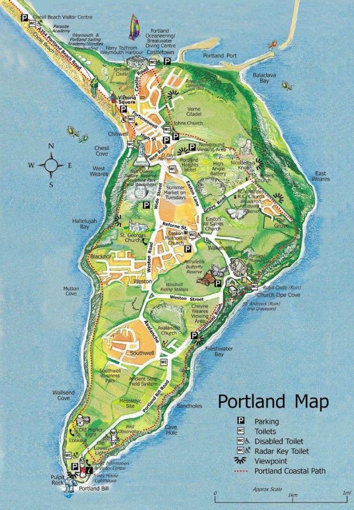 a very useful map of portland.