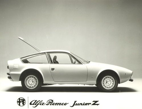 Vintage Press Release / Announcement of the Alfa Romeo Junior Zagato