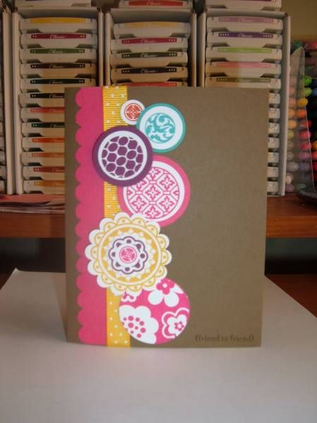 Circle circus gets inked up by Minders - Cards and Paper Crafts at Splitcoaststampers