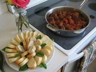meatball appetizer | Dinnerlicious | Pinterest