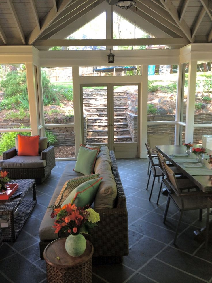 17 Best Images About Front Porch On Pinterest Slate Tiles Southern Porches And Patio