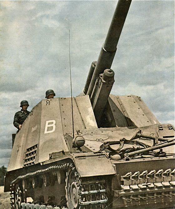 Hummel self-propelled artillery