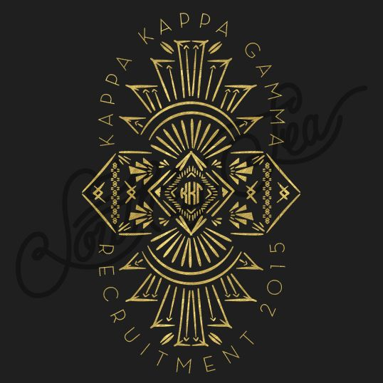 Sorority Recruitment Kappa Kappa Gamma Gatsby Tribal South By Sea