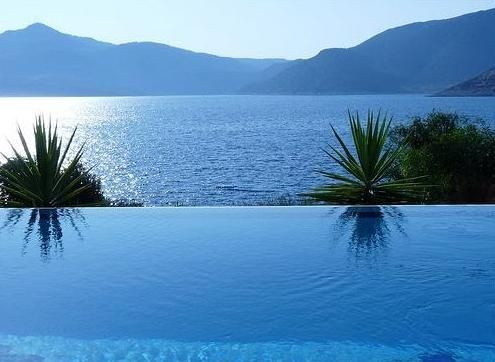 Looking out over the bay of Kalkan