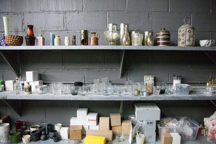Joya Studio prototypes for perfume and candle shapes.