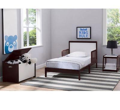 Cheap Bedroom Set Toddler 3 Piece Dark Chocolate Finish Kids Furniture Group