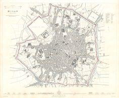 Milano 1832 #storia #mappa