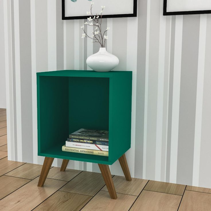 Quando pensamos em nicho, o mais comum é lembramos de opções suspensas. Este modelo é fantástico e dá um toque lindo na decoração.    #decoração #design #madeiramadeira