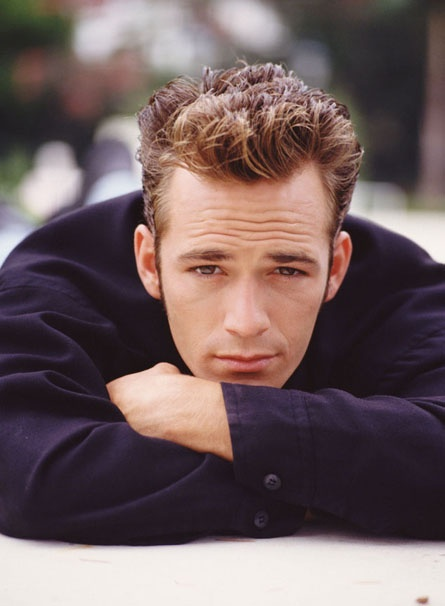 Beverly Hills 90210--I thought Luke Perry was such a hottie!