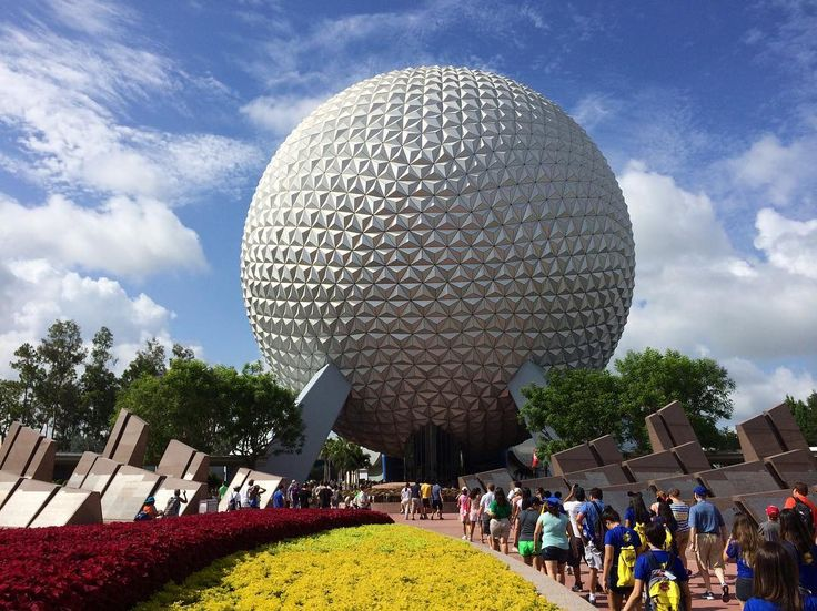"Fun Fact: #epcot's ""Leave a Legacy"" monolith garden will at least stay until 2027 when Disney's 20 year contract with customers ends!   Spaceship Earth week continues leading up to Friday's design reveal!  Check back everyday for more fun facts about the golf ball (#geodesicsphere)  . . . . . #wdw #spaceshipearth #Disney #disneyparks #disneyig #disneyside #WaltDisneyWorld #disneyworld #disneybound #disneybloggers #disneyphoto #ilovedisney #disneygram #instadisney #futureworld #LeaveALegacy…"