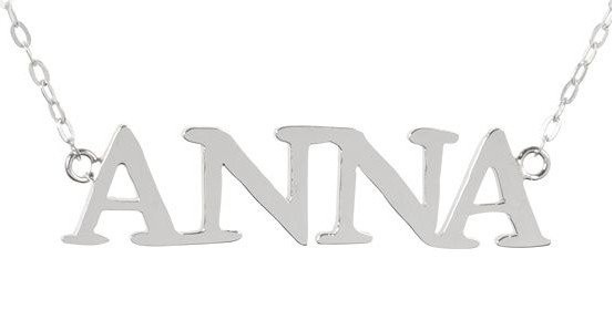 Sterling Silver Name Necklace  (http://www.wordon.com.au/products/sterling-silver-name-necklace.html)