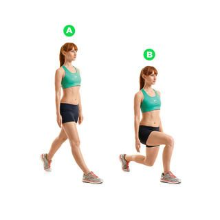 Split Squat http://www.womenshealthmag.com/fitness/strength-training-without-weights/split-squat