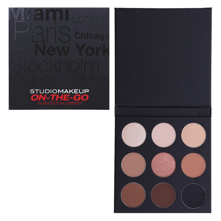 Studio Makeup - On-The-Go Palette - BOXYCHARM: The Best Beauty Subscription…