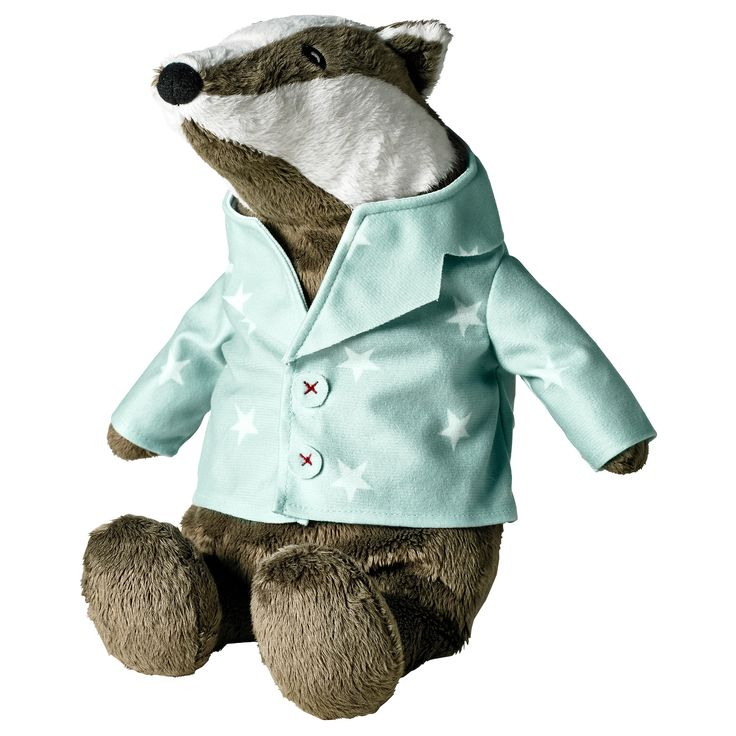 Gr 196 Vling Soft Toy Ikea Badger Bedtime For Frances 9