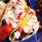 Fruit Tacos (use mini taco shells)