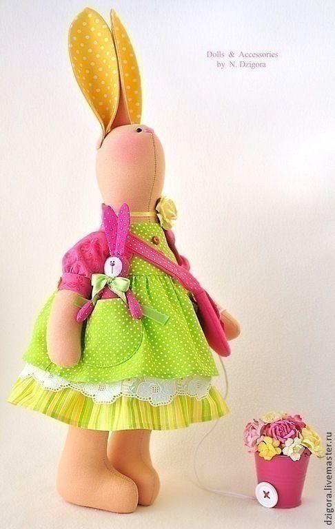 Купить Зайка Элисон - зайк, игрушка зайка, игрушка зайчик, игрушка заяц, зайка девочка