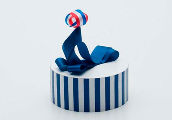 Ribbon Sculptures by Baku Maeda