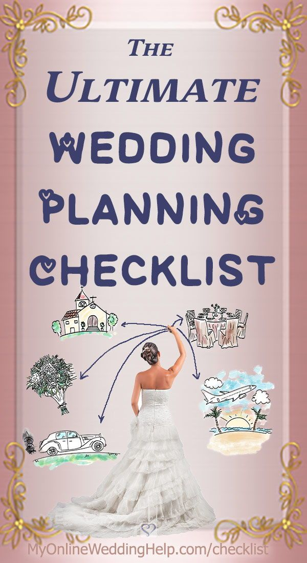 Your Complete Wedding Checklist 10 Steps Plus Timeline Complete Wedding Checklist Wedding Planning Wedding Checklist Budget
