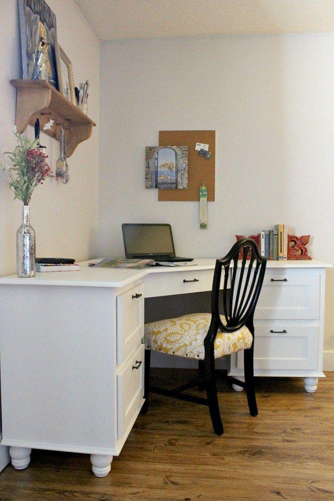 30+ BEST Simple Small Corner Desk Design Ideas | Diy ...