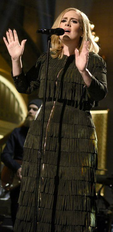 Adele's SNL Performance Was Perfection —Mostly Because of Her Custom Burberry Dress